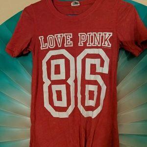 Love pink xs shirt